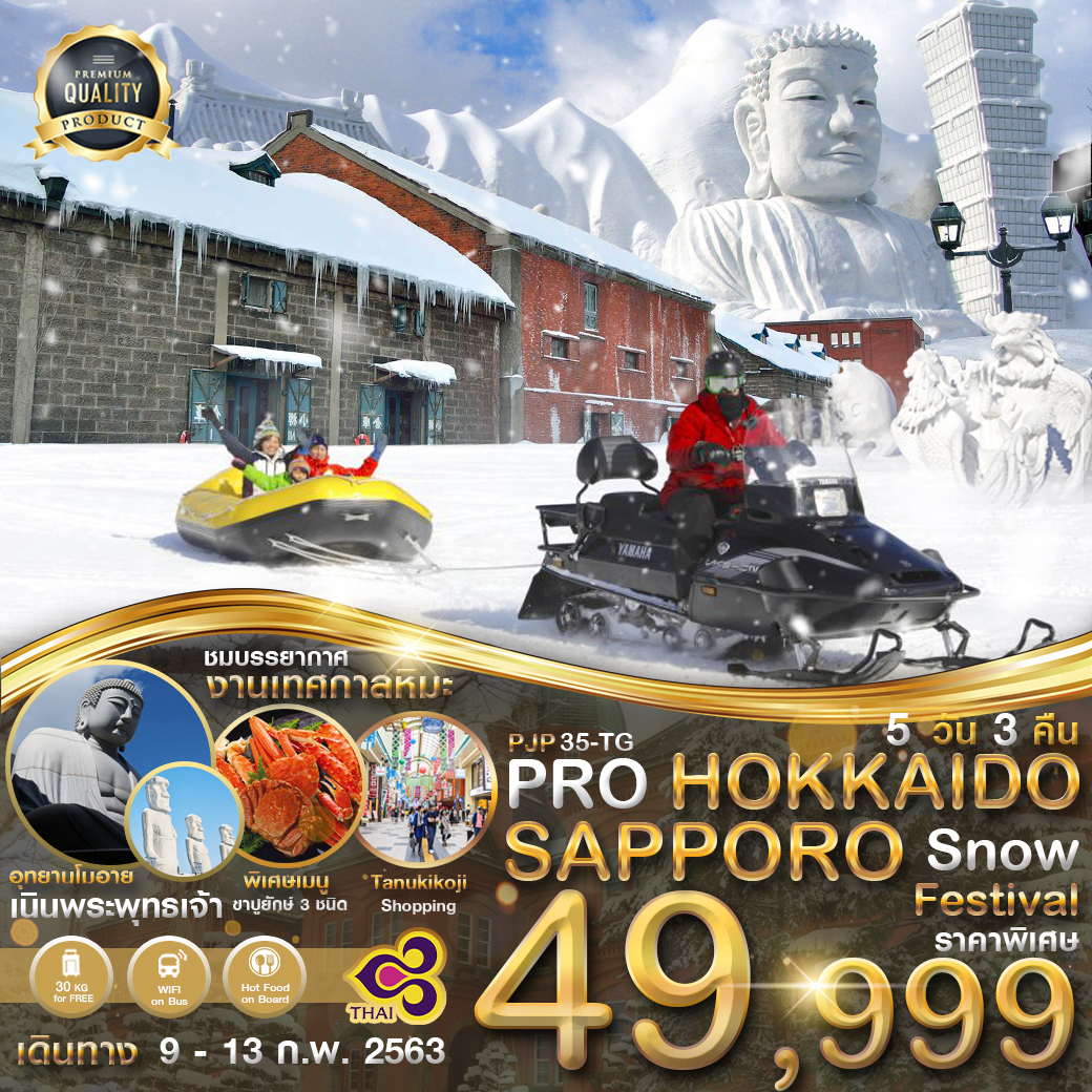 PRO HOKKAIDO SAPPORO SNOW FESTIVAL   5D3N