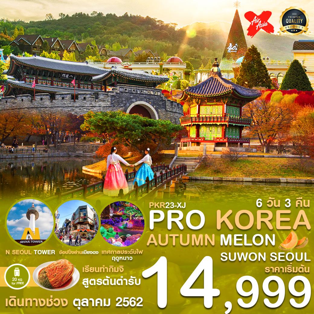 PRO KOREA AUTUMN MELON  ซูวอน โซล 6D3N