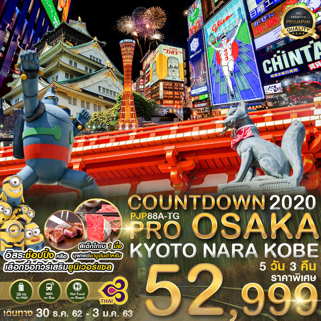 PJP88A -TG PRO OSAKA  KYOTO NARA KOBE COUNT DOWN 2020