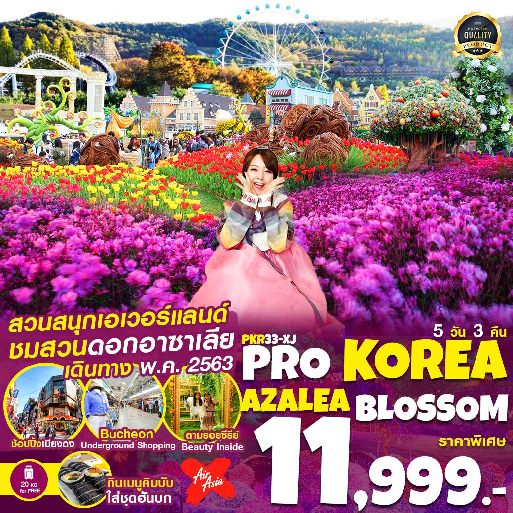 PRO KOREA AZALEA BLOSSOM 5D3N